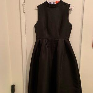 Boohoo Dresses - Black A-line mock neck dress